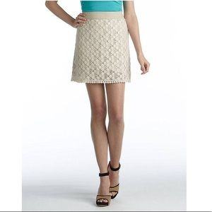 Lace A-line Skirt: Delicate, Detailed and Comfy